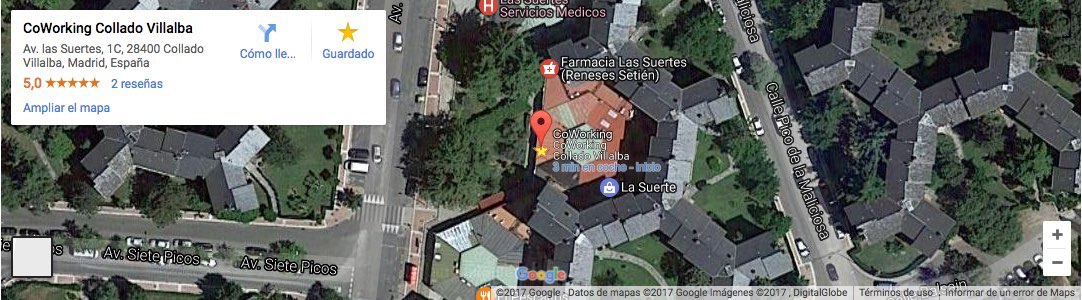 Ir a Coworking Collado Villalba Brainware en Google Maps
